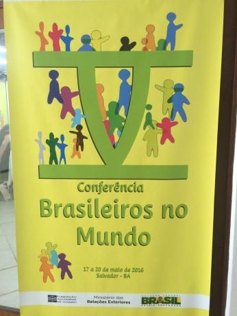 V Conferência Brasileiros no mundo