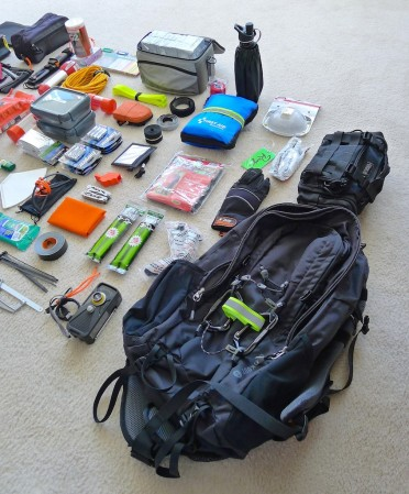 EMERGENCY SUPPLIES BUG-OUT-BAG BOB Backpack #03